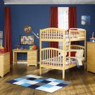 Richmond Twin over Twin Natural Maple Bunk Bed by Atlantic