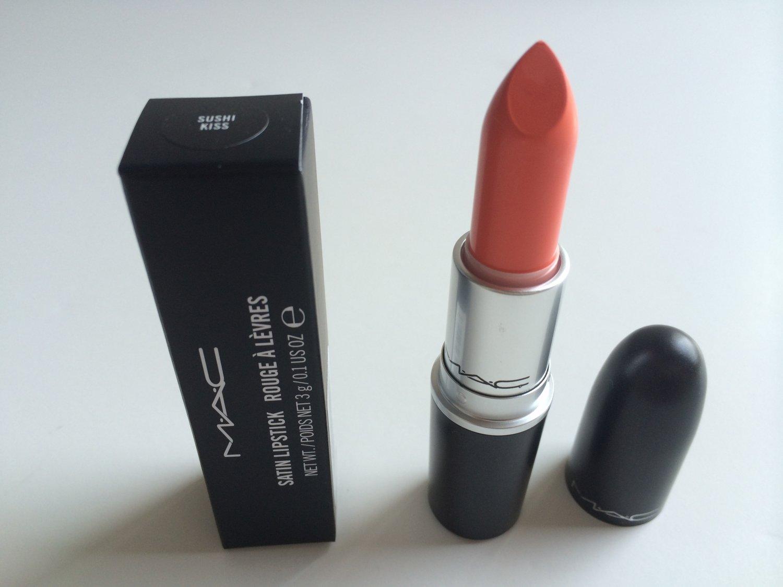 MAC Satin Lipstick - Sushi Kiss