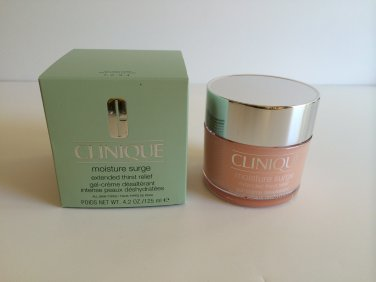 Clinique moisture surge extended thirst relief (BNIB) Large Size 4.2 oz / 125 ml Limited Ed.