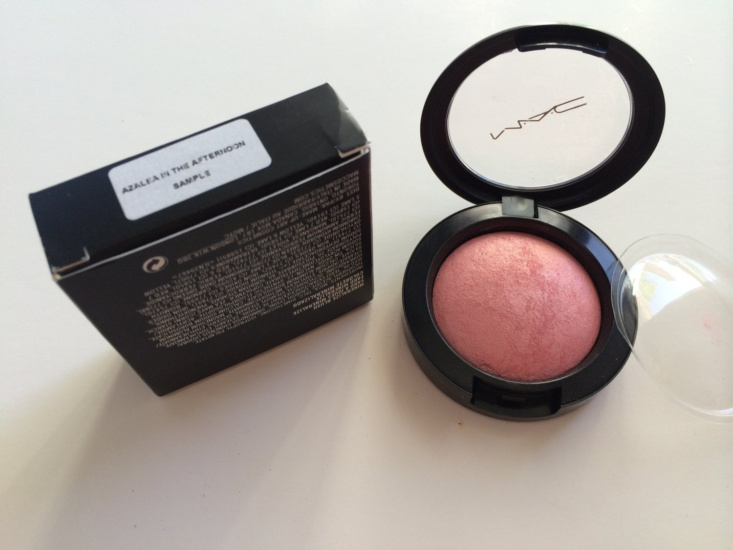 MAC Mineralize Blush - Azalea in the Afternoon (Boxed and marked sample)