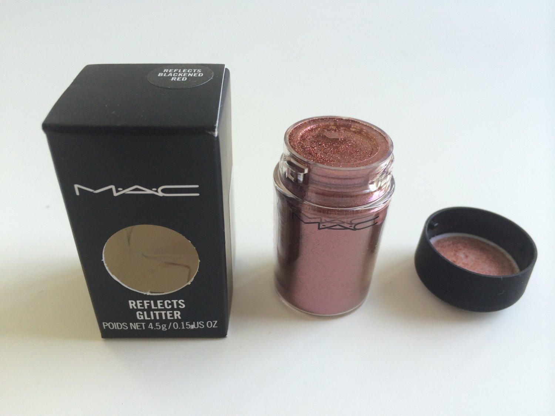 MAC Glitter - Reflects Blackened Red 4.5g/ 0.15 oz (BNIB)