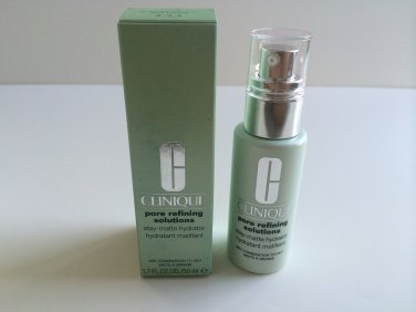 Clinique pore refining solutions stay-matte hydrator 1.7 oz