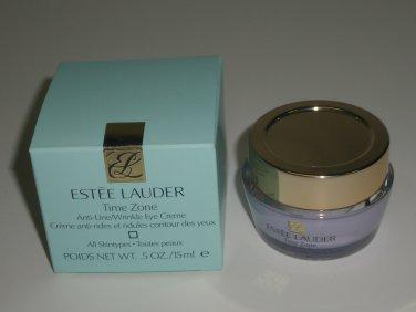 Estee Lauder Time Zone Anti-Line / Wrinkle Eye Creme - All Skintypes .5 oz