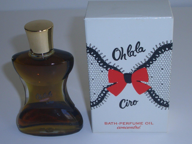 Ciro Oh la la Bath Perfume Oil Concentrate 1 oz