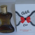 Ciro Oh la la Bath Perfume Oil Concentrate 1 oz