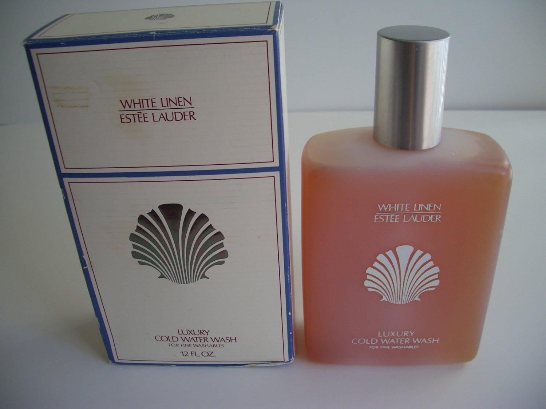 Estee Lauder White Linen Luxury Cold Water Wash (For Fine Washables) 12 oz