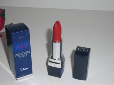 Dior Rouge Dior Replenishing Lipcolor 999 Celebrity Red *** Free USA Shipping  ***