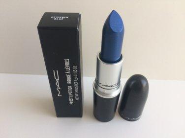 MAC Frost Lipstick - Designer Blue
