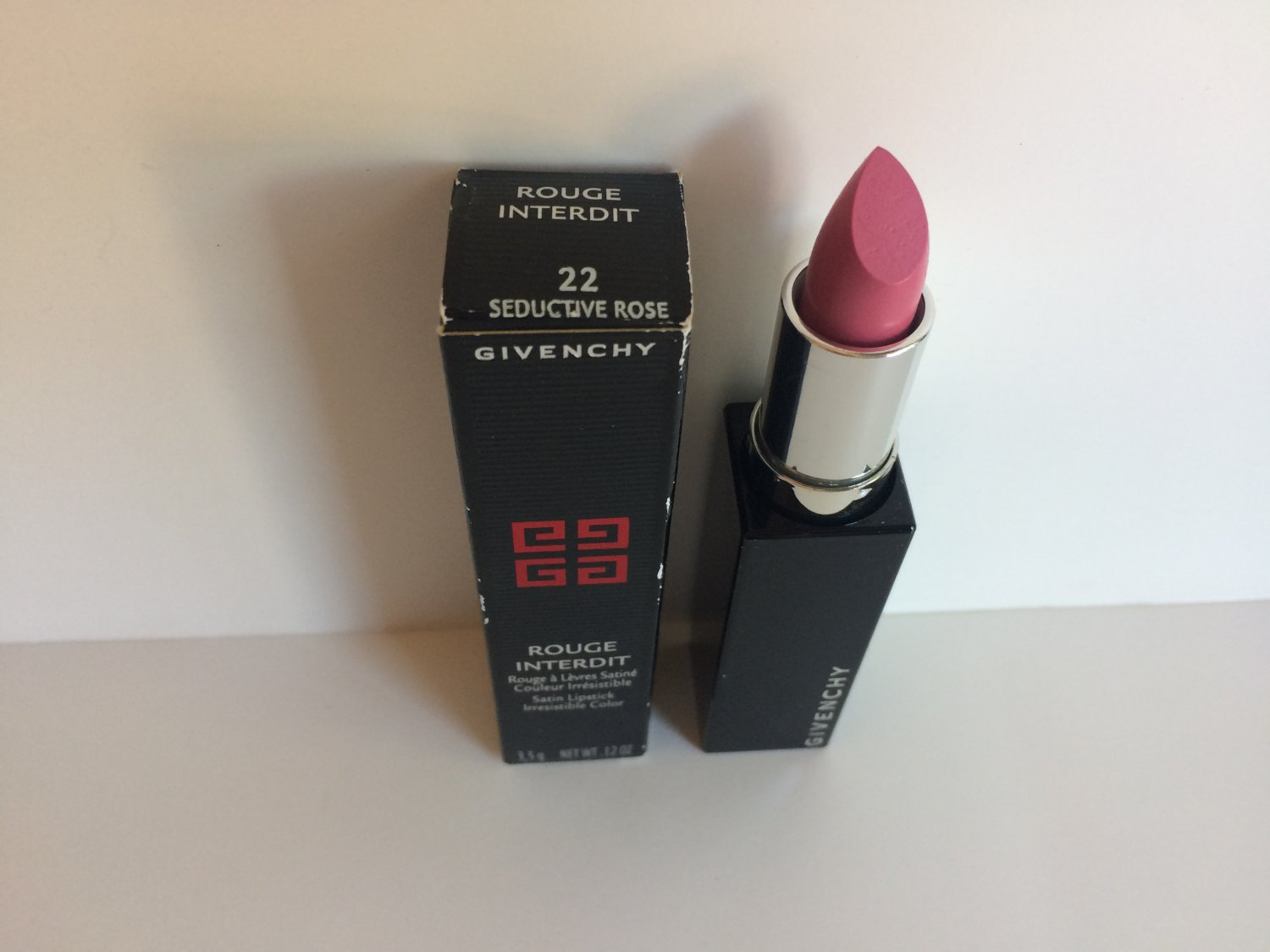 Givenchy Rouge Interdit Satin Lipstick - 22 Seductive Rose