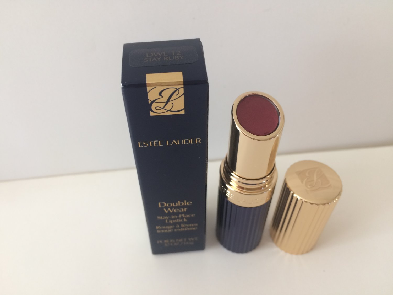 Estee Lauder Double Wear Stay-in-Place  Lipstick -  12 Stay Ruby
