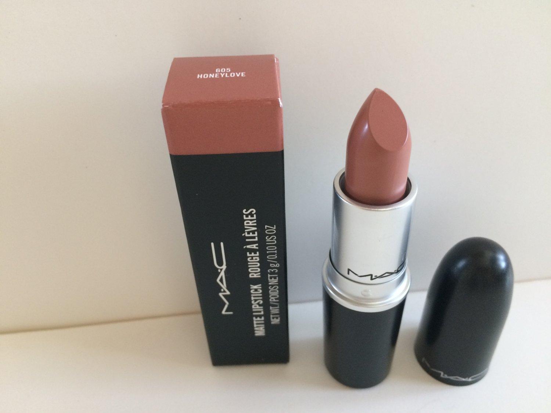 MAC Matte Lipstick - Honeylove