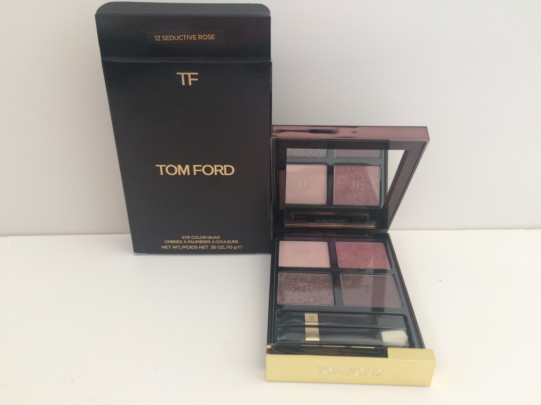 Tom Ford Eye Colour Quad - 12 Seductive Rose