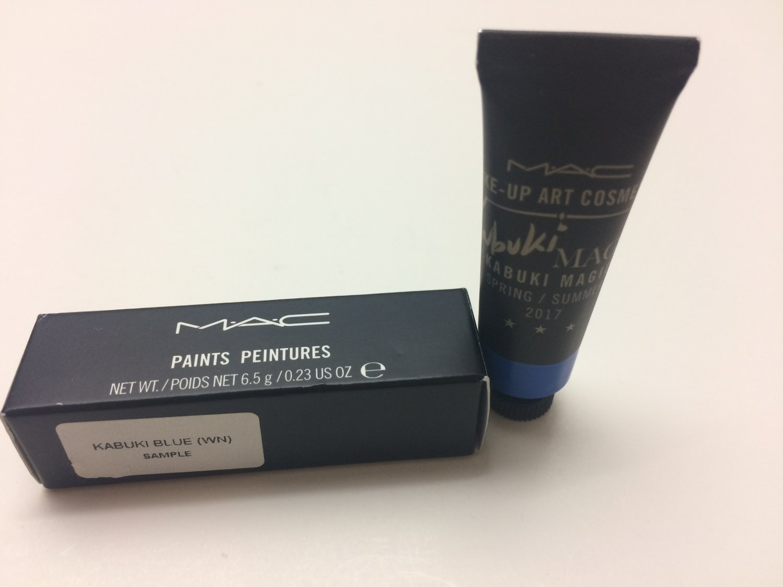 MAC Paints Peintures - Kabuki Blue