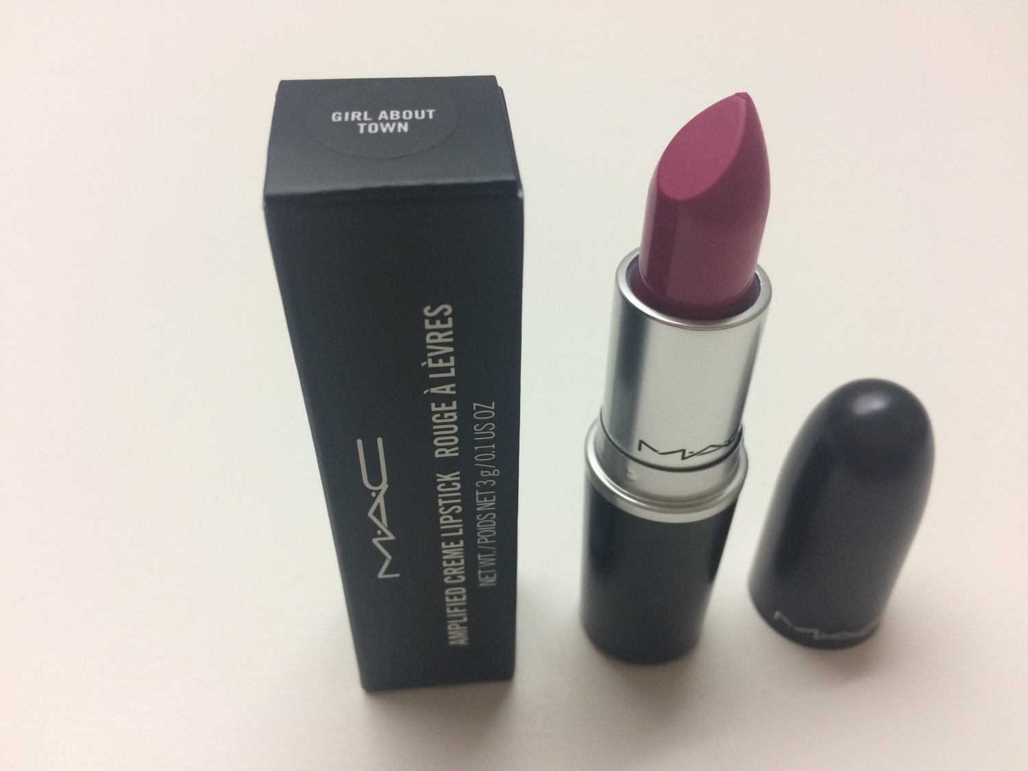 MAC Amplified Lipstick - Girl About Town