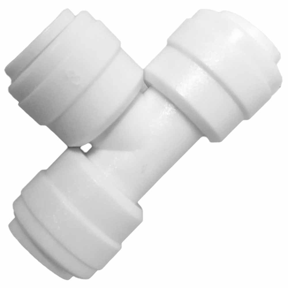 """1/4"""""""" Quick Connect Union Tee Fittings"""
