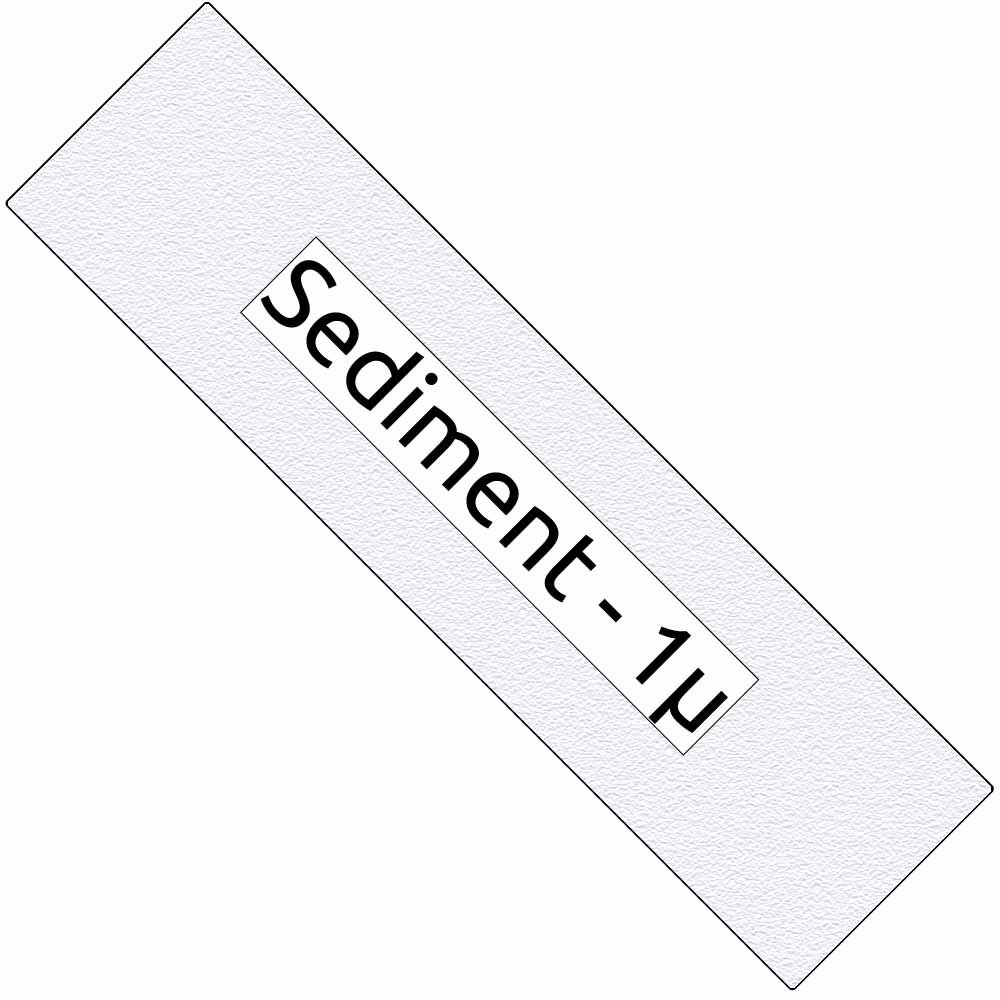 "1 micron 10"""" Sediment filter (SED101)"