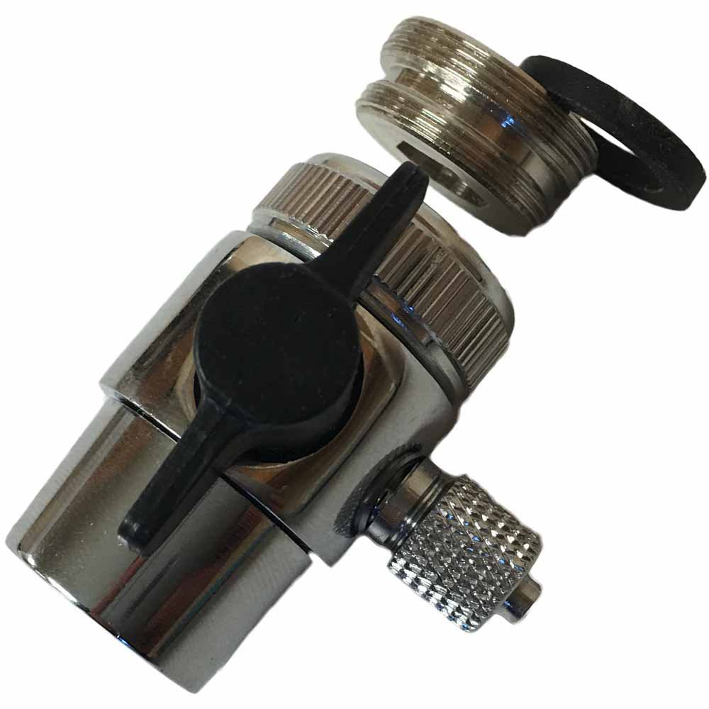 Faucet Diverter valve for 1/4-inch tubing