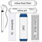RO Zoi Theta Pure Filter Kit (incl. UV Bulb)