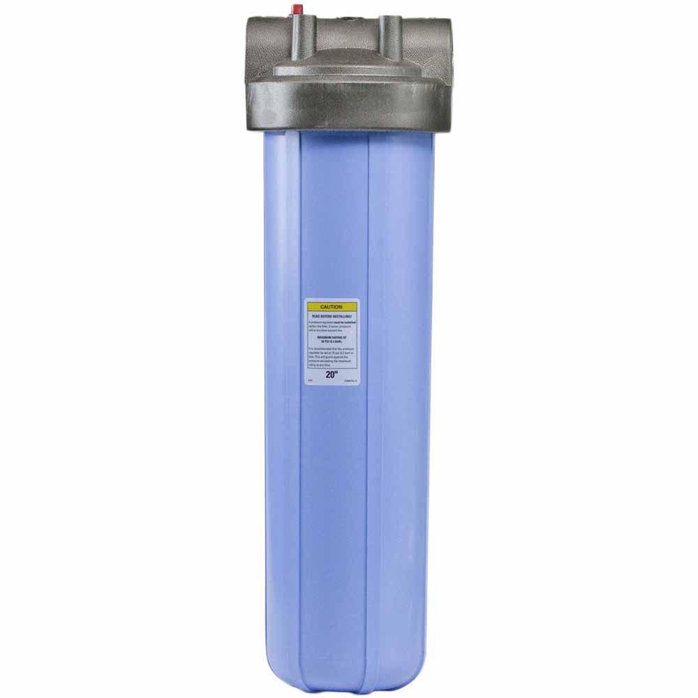 "20"""" Big Blue PENTEK Filter Housing with 1"""" Ports & Pressure Release (150233)"