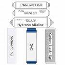 RO Zoi Mu Pure Filter Kit (incl. UV Bulb)