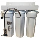 3 Stage 10-inch Drinking Water Filter for Fluoride, Arsenic, & Heavy Metal Removal