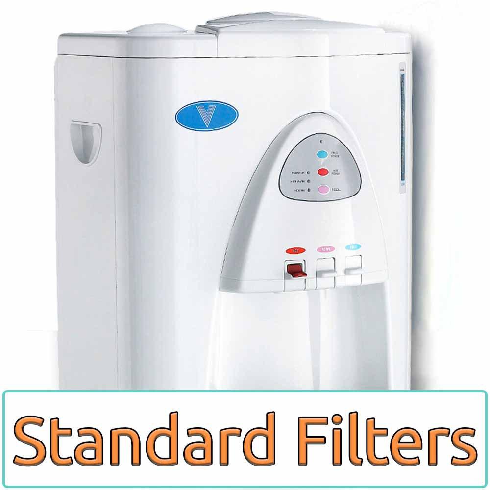 Vertex PWC-600F PureWaterCooler 3 Temperature Water Cooler w/ Filtration