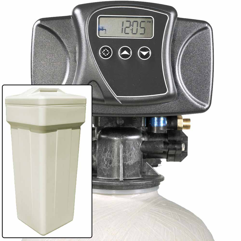 Water Pro 15 with Fleck 5600SXT Water Softener and Multi Media Filter for Iron, Sulfur, Tastes, &amp