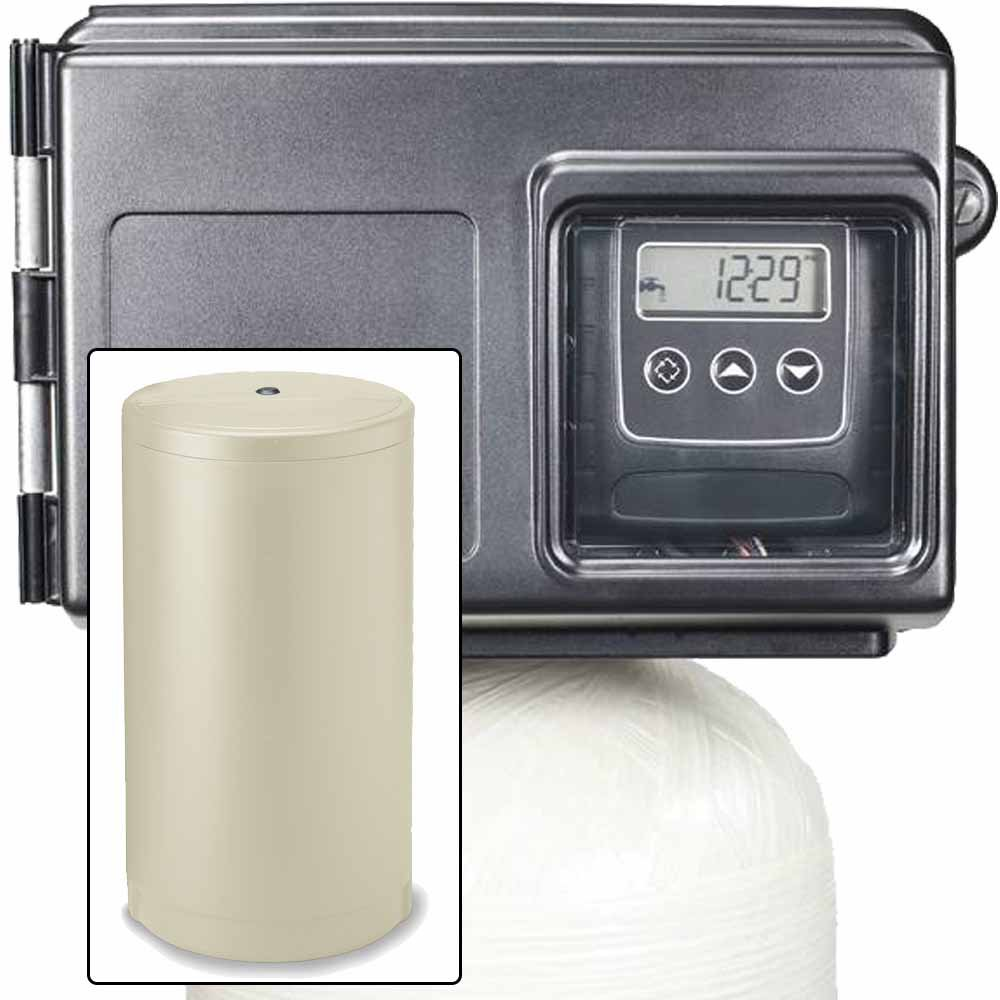 IRON PRO 80K FINE MESH WATER SOFTENER WITH FLECK 2510SXT