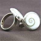 Shiva Eye Ring - Tribal Jewelry - Ethnic Jewelry - Unisex Jewelry - Native American Jewelry