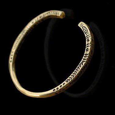 Beautiful Tribal Brass Bracelet - Tribal Jewelry - Ethnic Jewelry - Unisex Jewelry