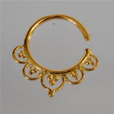 Septum Ring - Septum Jewelry - Septum Piercing - Septum Cuff - Indian Nose Ring