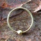 14K Septum Ring - Septum Jewelry - Septum Piercing - Septum Cuff - Indian Nose Ring