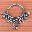 Septum Ring - Septum Jewelry - Septum Piercing - Septum Cuff - Indian Nose Ring