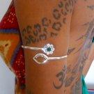 Silver Armlet - Silver Arm Bracelet - Upper Arm Cuff - Upper Arm Bracelet - Arm Bangle