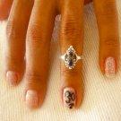 Silver Knuckle Ring - Adjustable Knuckle Ring - Silver Midi Ring - Adjustable Finger Ring