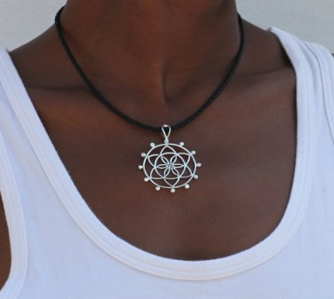 Silver Pendant - Ethnic Pendant - Gypsy Pendant - Silver Jewelry - Ethnic Jewelry