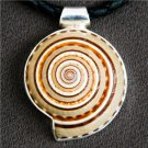 Snail Shell Silver Pendant - Native American Jewelry - Tribal Jewelry - Unique Jewelry