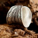 Silver Ring - Flower Ring - Silver Jewelry - Sterling Jewelry - Tribal Jewelry