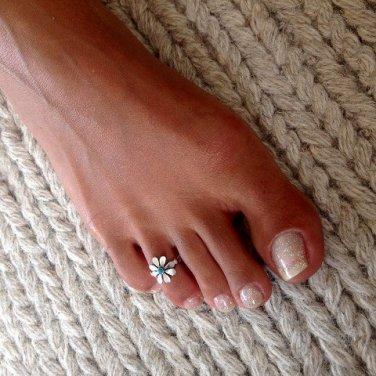 Beautiful Silver Toe Ring - Adjustable Toe Ring - Plain Toe Ring - Foot Accessories