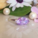 Lavender Amethyst Ring - Silver Ring - June Birthstone - Gemstone ring