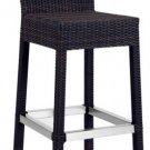 Naples Outdoor Bar Stool: All Weather Seating
