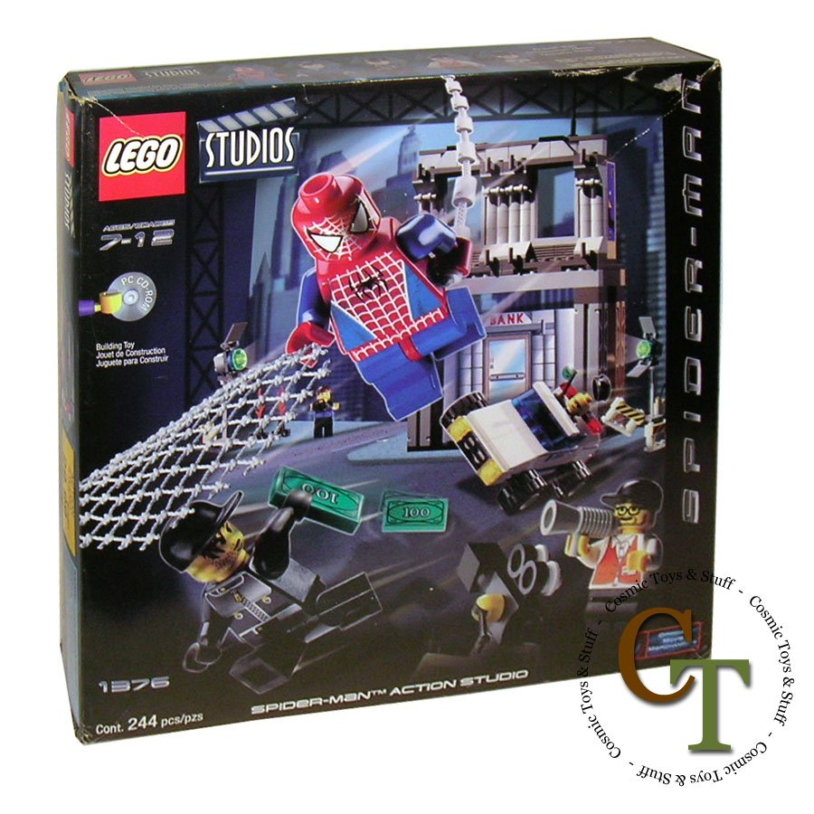 LEGO 1376 Spider-Man Action - Studios