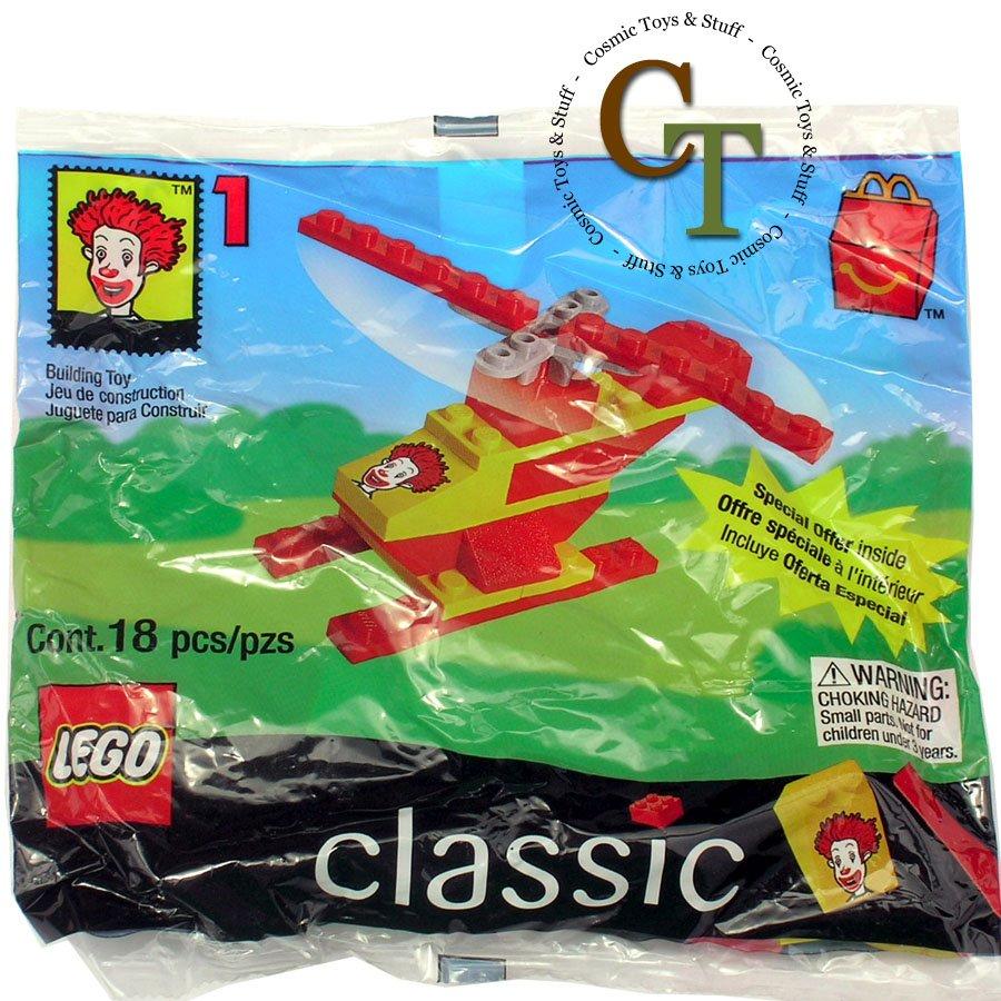 LEGO 2032 McDonalds 1999 #1 promo polybag