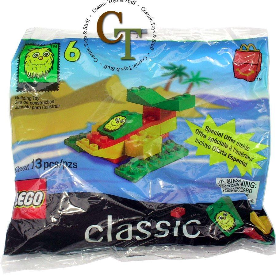 LEGO 2047 McDonalds 1999 #6 promo polybag
