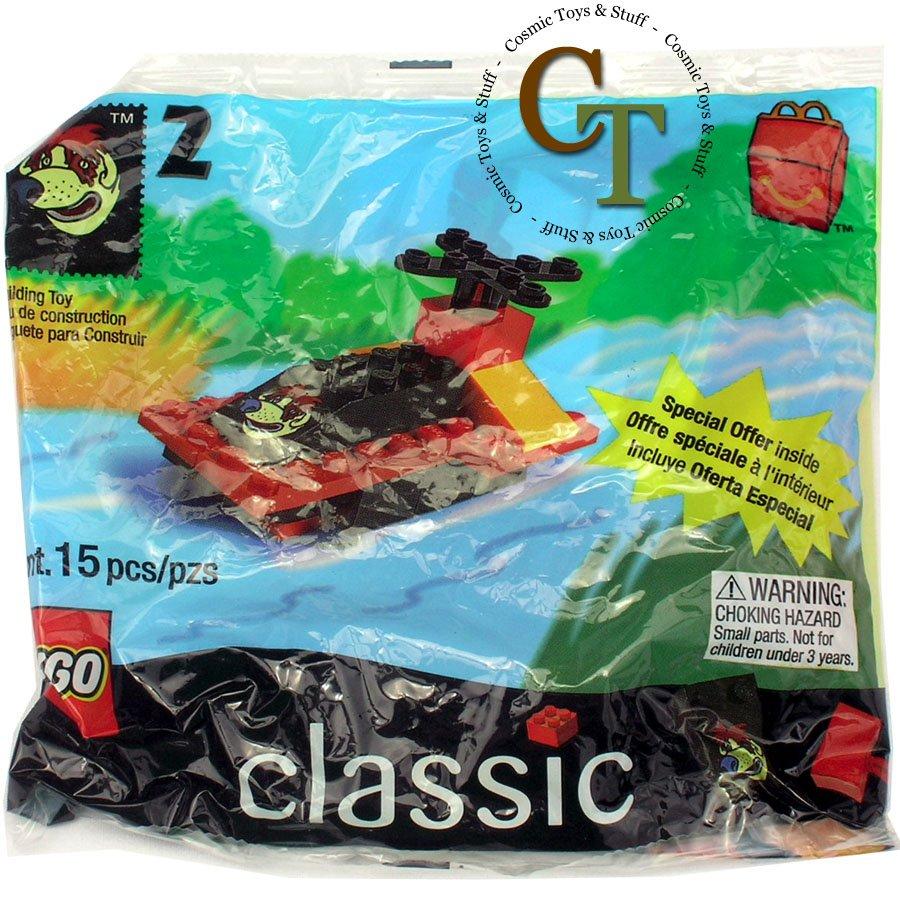 LEGO 2069 McDonalds 1999 #2 promo polybag