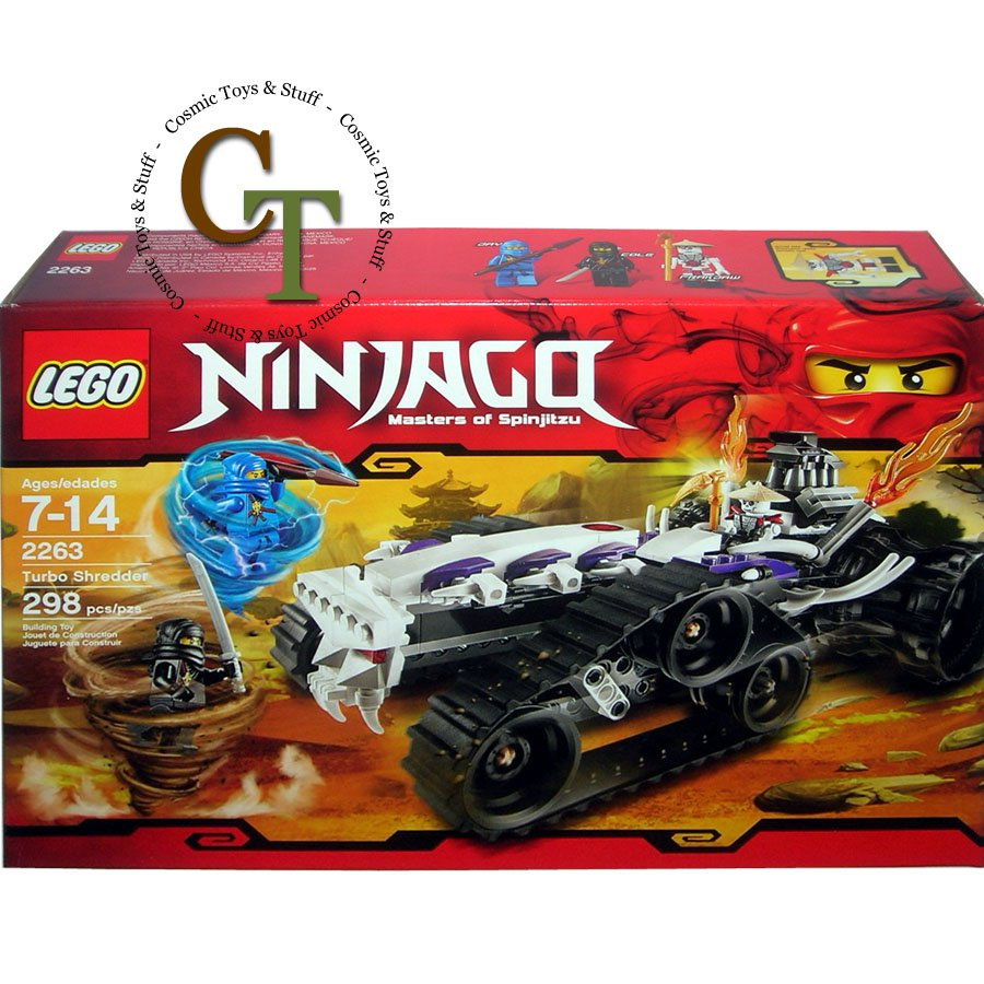 LEGO 2263 Turbo Shredder - Ninjango