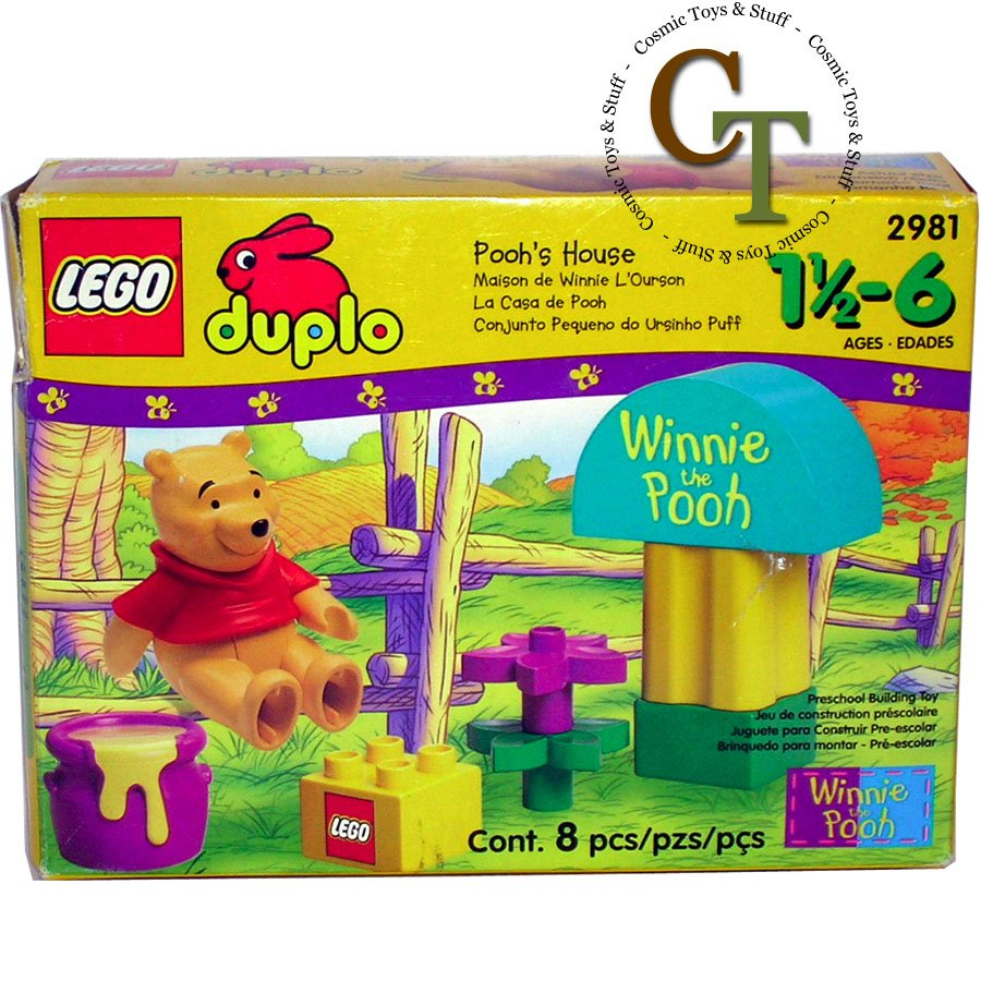LEGO 2981 Poohs Corner - DUPLO