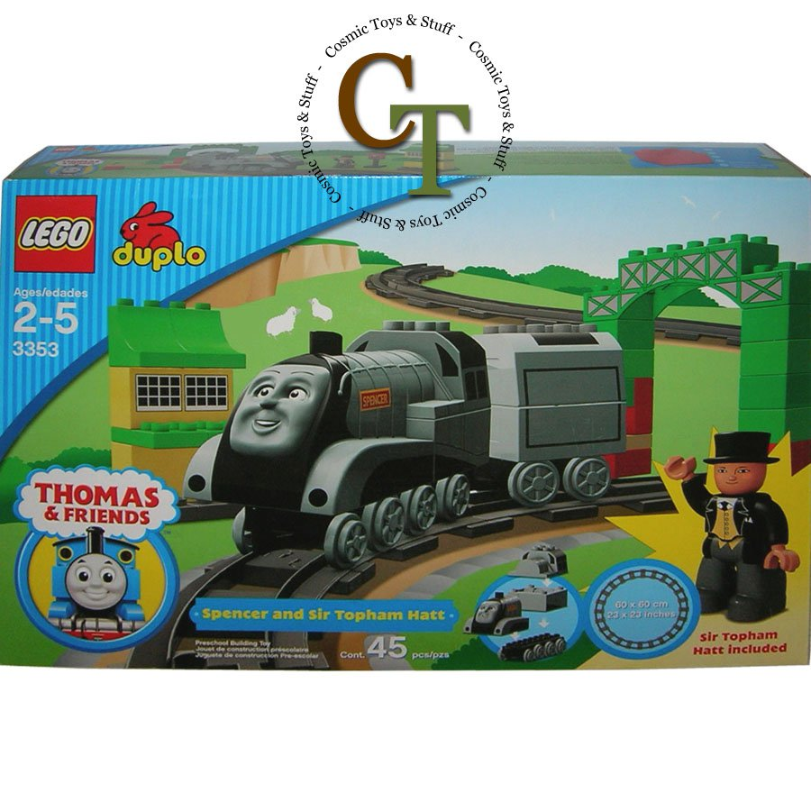 LEGO 3353 Spencer and Sir Topham Hat - DUPLO