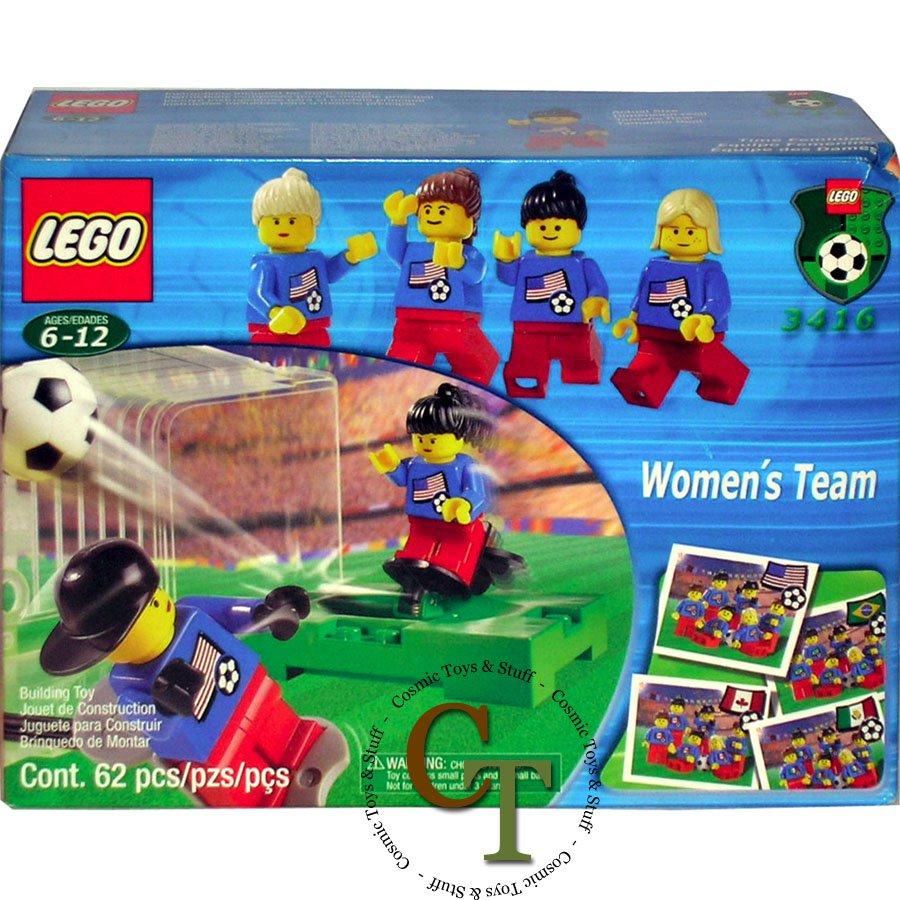 LEGO 3416 Women's Soccer Team - Sports Soccer