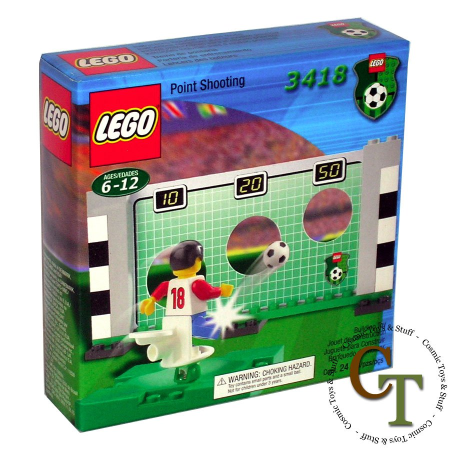 LEGO 3418 Point Shooting - Sports Soccer